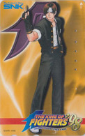 Télécarte Japon / 110-016 - MANGA - KING OF FIGHTERS - ANIME Japan Phonecard ** SNK ** - 10880 - Comics