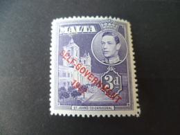 MALTE   NEUF *   Charniere - Malta