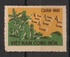 South Vietnam - 1961 - Franchise Militaire N°Yv. 1 - Percé En Ligne - Neuf Luxe ** / MNH / Postfrisch - Vietnam