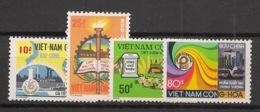 South Vietnam - 1975 - N°Yv. 522 à 525 - Developpement Economique - Neuf Luxe ** / MNH / Postfrisch - Viêt-Nam