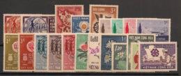 South Vietnam - Complete Year 1965 - N°Yv. 254 à 274 - 21v / Année Complète  - Neuf Luxe ** / MNH / Postfrisch - Viêt-Nam