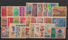 South Vietnam - Complete Year 1966 - N°Yv. 275 à 303 - 29v / Année Complète  - Neuf Luxe ** / MNH / Postfrisch - Viêt-Nam