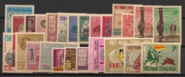 South Vietnam - Complete Year 1967 - N°Yv. 304 à 324 - 25v / Année Complète  - Neuf Luxe ** / MNH / Postfrisch - Viêt-Nam