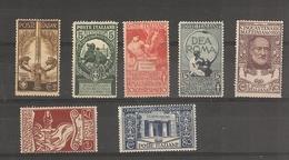 Italie _ Cinquantenaire  (1911/1922 ) N°88/91+121/123 - 1878-00 Humbert I