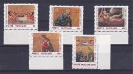 1990 Vaticano Vatican NATALE CHRISTMAS  Serie Di 5v. MNH** - Natale