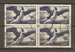 France 1948 - Poste Aérienne - Pa 18 - Bloc De 4° - 1927-1959 Oblitérés