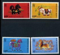 Hongkong MiNr. 581-84 Postfrisch MNH Chinesisches Neujahr (Z4659 - Hong Kong (1997-...)
