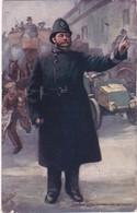 POLICEMAN - CONTROLLING THE TRAFFIC 1905 TUCKS POSTCARD LISBURN - Tuck, Raphael