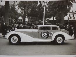 Rare! Belle Photo Ancienne Voiture Ancienne Automobile Bugatti ?  !!! - Cartes Postales