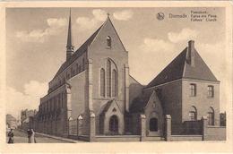 Dixmude Minderbroeders Kerk Niet  Verstuurd Perfekte Staat - Diksmuide
