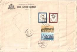 San Marino 1980  - FDC AASFN Europa+Londra .RACCOMANDATA First Day Cover. - FDC