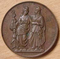 Médaille LOUIS-PHILIPPE Ier / A  L'Héroïque Pologne 1831 - Professionals / Firms