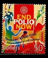 Serbie - Serbia - Serbien 2011 Y&T N°392 - Michel N°399 (o) - 50d Propagande Contre La Polio - Serbie