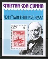 TRISTAN Da CUNHA  Scott # 263** VF MINT NH SOUVENIR SHEET  LG-907 - Tristan Da Cunha
