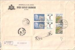 San Marino 1980  - FDC AASFN 100°Robert Stolz Soll. Pesi Jr Turismo .RACCOMANDATA First Day Cover. - FDC