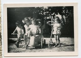 Enfant Kids Fille Girl Bebe Boy Garçon Trottinette Velo Pedal Car Toy Voiture à Pedales Tricycle Jouet - Personnes Anonymes