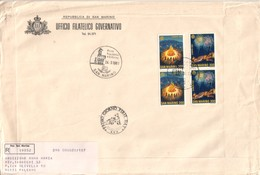 San Marino 1981  - FDC AASFN Europa Folclore.RACCOMANDATA First Day Cover. - FDC