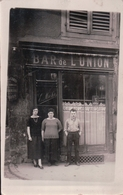 CARTE PHOTO BAR De L'UNION METZ Sablon (renée, Maman Miche, Roger) - Metz