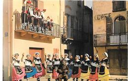 CPA-1965-66-LA SARDANE Dansée Par Le Groupe ALEGRIA D ARLES Sur TECH-TBE - France
