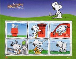 Snoopy-Comic 2000 Portugal Block 165 ** 9€ Postauto Brief Bloque Hojitas S/s Bloc Art Sheet Painting Bf Philatelics - 1910-... Republic