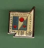 EDF-GDF *** PATS DE L'AIN *** EDF-03 - EDF GDF
