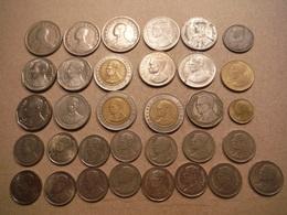 P13     Monnaies Thaï - Quelques Anciennes - Thaïlande
