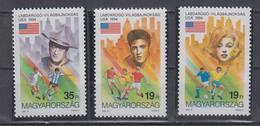 HUNGARY 1994 FOOTBALL WORLD CUP MARILYN MONROE ELVIS PRESLEY JOHN WAYNE - World Cup