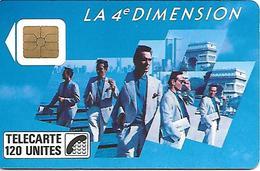 CARTE-a-PUBLIC-120U-F 39-1989-SO2-4é DIMENSIONS HOMMES-V° 4Pe 1042-UTILISEE -TBE - France