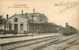 081218D - 81 MAZAMET La Gare - Voyageur Train Locomotive 1122 - Mazamet