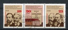 DDR Nr.2050/2 Streifen            O  Used       (21621) ( Jahr: 1975 ) - DDR