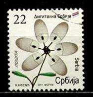 Serbie - Serbia - Serbien 2011 Y&T N°423 - Michel N°430 (o) - 22d Série Courante - Serbie
