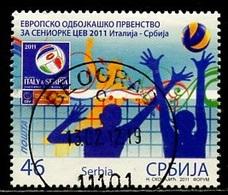 Serbie - Serbia - Serbien 2011 Y&T N°426 - Michel N°433 (o) - 46d Volley Ball - Serbie