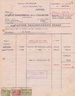 1930: Facture De ## SOC. INDUSTR. De La CELLULOSE, Allée Verte, 237, GAND ## à ## Ganterie VAN MECHELEN,Rue ... - Imprenta & Papelería