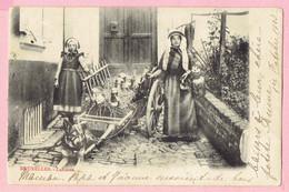 Bruxelles Laitieres - 1903 - Petits Métiers