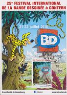 Bandes Dessinées : Contern (Luxembourg) 25è Festival Internat De La BD 21-22 Juillet 2018 Le Marsupilami - Stripsverhalen