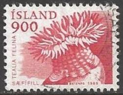 1985 900a Dahlia Anemone, Used - 1944-... Republic
