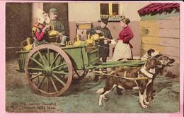 Bruxelles Laitier Flamande - Flemisch Milk Man - 1936 - Petits Métiers