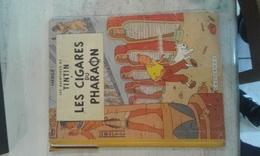 TINTIN ET LES CIGARES DU PHARAON - B14-1955 ETAT MOYEN - Tintin