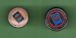 EDF-GDF *** ELECTRICIE DE FRANCE INTERNATIONAL *** Lot De 2 Pin's Differents  *** EDF-03 - EDF GDF