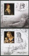 Congo 2018 MNH Albrecht Durer 2x 1v S/S Art Paintings Stamps - Art