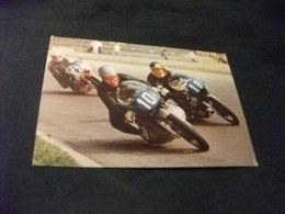 Motorbikes MOTO CORSA PILOTI IN CORSA G.P. DELLE NAZIONI 1971 CLASSE 350 IN PRIMA POSIZIONE GRASSETTI - Personalità Sportive