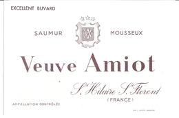 VEUVE AMIOT -SAUMUR MOUSSEUX -ST HILAIRE ST. FLORENT - Autres