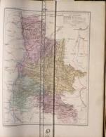 Dpt 26 DROME Joanne 1874 30x38 Valence Die Montelimar Nyons Romans Grignan St Donat Chabeuil Marsanne - Cartes