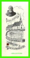 IMAGES RELIGIEUSES - LE PÈRE FRÉDÉRIC (1888 CAP DE LA MADELEINE 1902 ) & RELIQUE - NEUVAINE DE PRIÈRES - - Images Religieuses