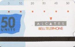 ALCATEL : AB02 50u Bleu Magn. Nr1 Worldwide MINT - Belgique
