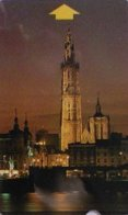 ALCATEL : AB10C 50u Antwerp By Night USED - Belgium