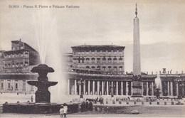 Roma, Vaticano, Piazza S Pietro E Palazzo Vaticano (pk53166) - Vatican