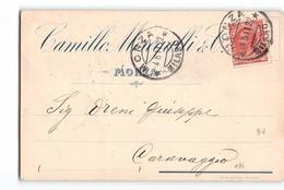 11823 MONZA MEREGALLI X CARAVAGGIO - 1900-44 Vittorio Emanuele III