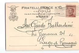 11824 MONZA PESCE CAPPELLI X LUGO - 1900-44 Victor Emmanuel III