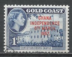 Ghana 1957. Scott #6 (U) Christianborg Castle * - Ghana (1957-...)